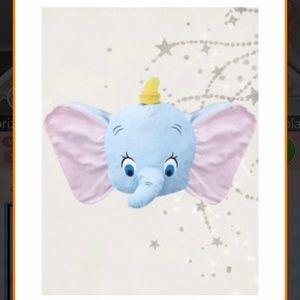 Dumbo Pastel Face Cushion